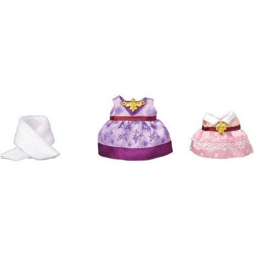 Epoch Sylvanian families town - zestaw eleganckich ubranek fioletowe i różowe 6020 (5054131060209)