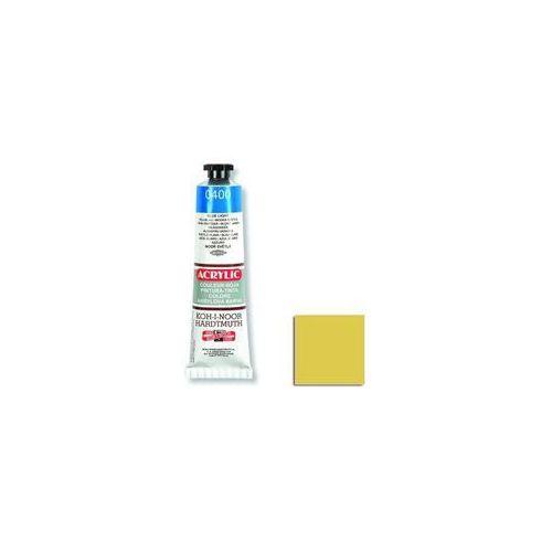 Koh i noor Farba akrylowa Acrylic 200 Żółty Cy40ml