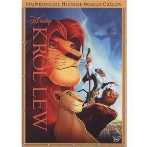 Król Lew (DVD) Najpiękniejsze Historie Wszech Czasów (7321917500609)