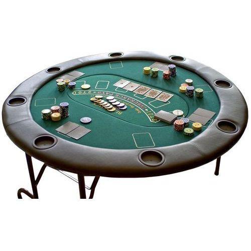 Profesjonalny składany stół do gry poker lub dalszych. marki Garthen