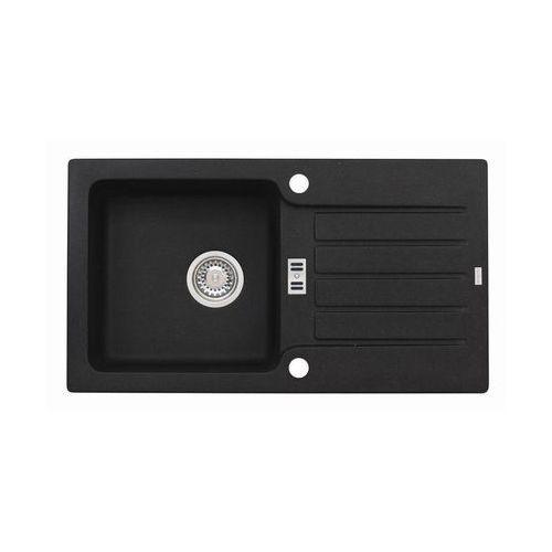 Zlewozmywak NIAGARA 30 77,5 cm ALVEUS, kolor czarny