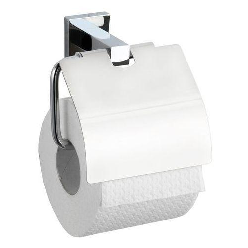 Uchwyt na papier toaletowy San Remo, Power-Loc - stal chromowana, WENKO, B002BSH1GU