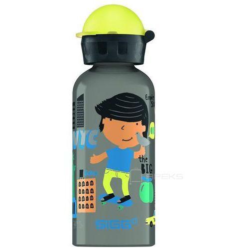 kids travel boy new york butelka / bidon 0.4l dla dzieci - travel boy new york marki Sigg