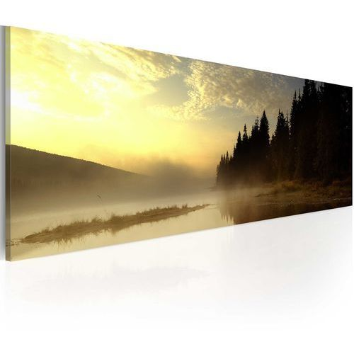 Obraz - mgła nad jeziorem marki Artgeist
