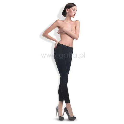 Gatta Spodnie trendy czarne 44458,44459 l, czarny/nero. gatta, l, m, s, xl, xs