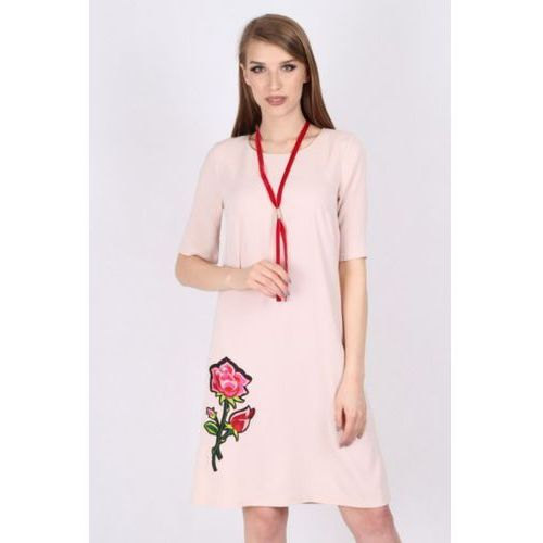 Sukienka Model M 840 Pink, kolor różowy