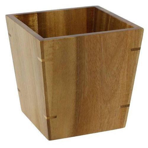 Pojemnik z drewna mały | 10x10x(h)10cm marki Olympia