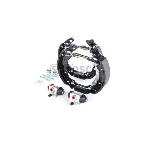 BOSCH KIT SUPERPRO, zestaw szczek hamulcowych + cylinderek hamulca koła; zamontowany; z tyłu, 0 204 114 181 (4047024923157)