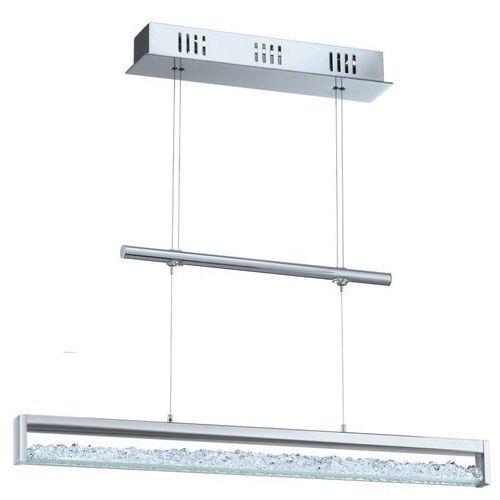 Lampa wisząca szer: 70cm CARDITO 24W LED 93625 EGLO, kolor Srebrny