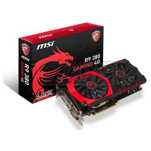 Karta graficzna MSI Radeon R9 380 4096MB DDR5/256b D/H Gaming 4G LE - R9 380 GAMING 4G LE