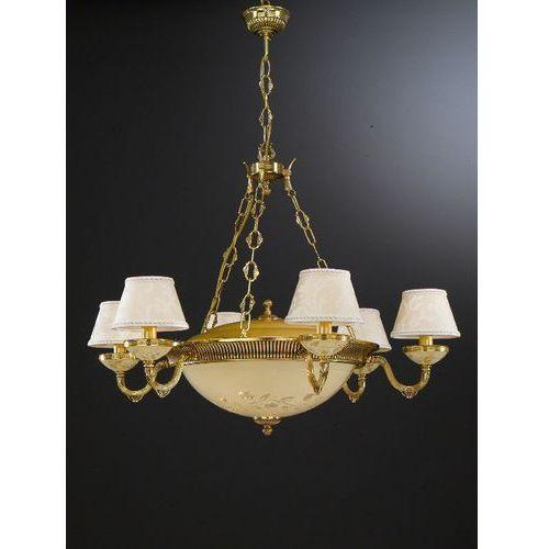 lampa wisząca 6525 6xE14 + 4xE27, RECCAGNI ANGELO L.6525/6PLUS4
