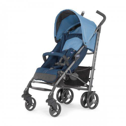 Chicco Wózek LiteWay Top z pałąkiem Blue - DARMOWA DOSTAWA!!!, 06079547800000