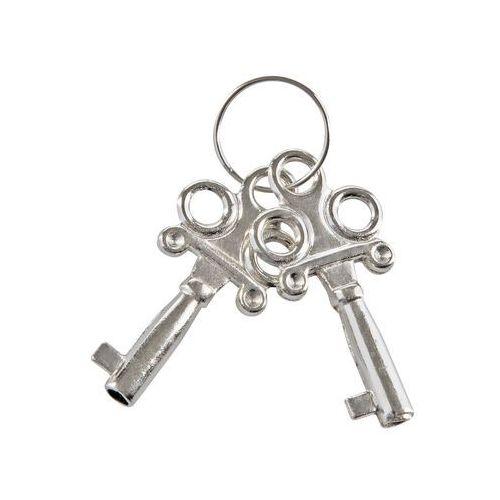 Metalowe kajdanki różowy plusz solidne wykonanie (8713221063366)
