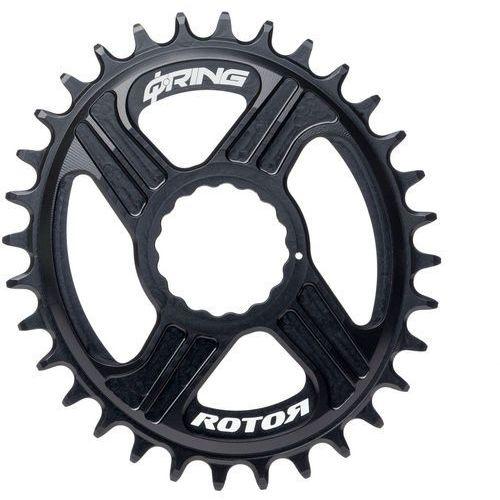 Rotor rex direct mount q-ring zębatka rowerowa 1x11 czarny 34 zębów 2018 zębatki przednie (8434366007342)