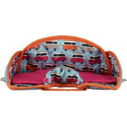 Close , ochraniacz na fotelik samochodowy blue/orange campervan