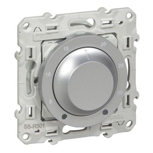 Schneider Termostat elektroniczny obrotowy odace s530501 aluminium (3606480391903)