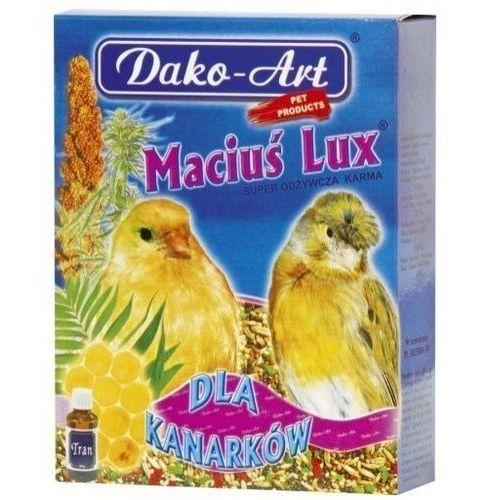 Dako art maciuś lux z tranem 500g dla kanarka marki Dako-art