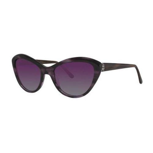Vera wang Okulary słoneczne v445 amethyst horn