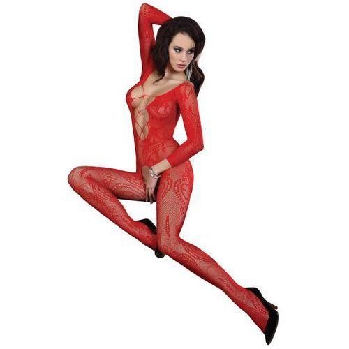 bodystocking zita red marki Livia corsetti