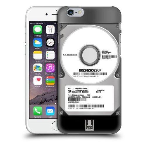 Etui plastikowe na telefon - hard disk drives silver marki Head case