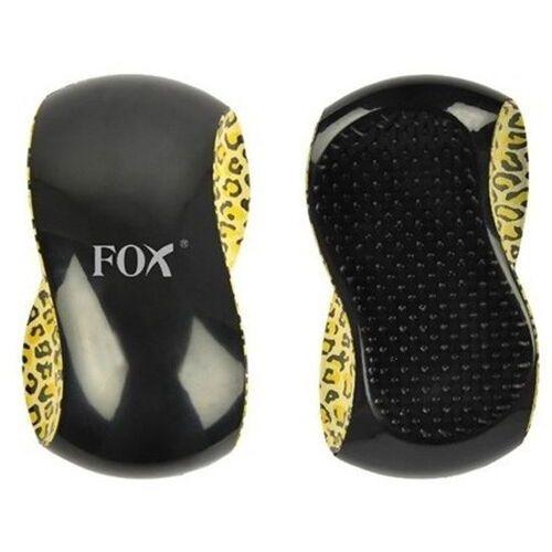 Fox DETANGLING szczotka do rozczesywania włosów, wzór panterka (5904993463871)