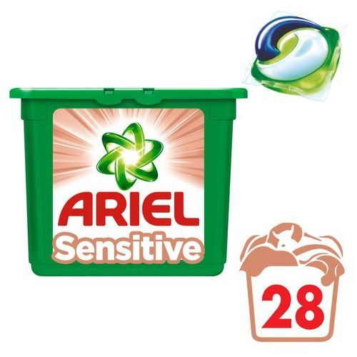 Ariel sensitive 3 w 1 kapsułki do prania, 28 prań (8001090309792)