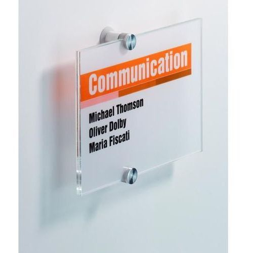 Tabliczka informacyjna 210 x 210 mm crystal sign - x07941 marki Durable