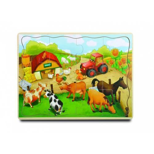 Playme Puzzle drewniane farma 12 (5907791577139)