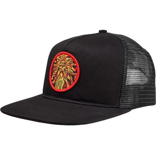 czapka z daszkiem SANTA CRUZ - Jessee Sungod V2 Mesh Cap Black (BLACK), kolor czarny