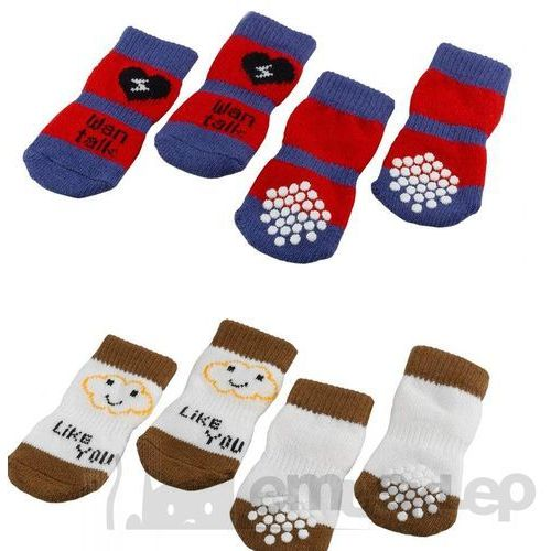 pet socks skarpety antypoślizgowe dla psów large/ 86812099 marki Ferplast