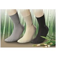 Skarpety deo med zdrowotne/bamboo rozmiar: 39-42, kolor: czarny/nero, jjw, Jjw