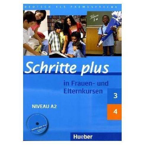 Schritte plus 3 und 4 Übungsbuch mit Audio-CD (9783198319130)