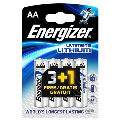 Baterie aa ultimate lithium marki Energizer