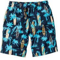 "Bermudy ""regular fit"" ciemnoniebieski w kratę marki Bonprix"