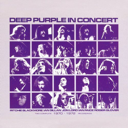 IN CONCERT 1970-1972 - Deep Purple (Płyta CD)