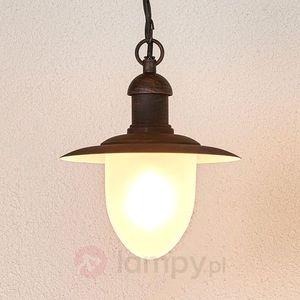 Nostalgiczna lampa wisząca cottage zewnętrzna marki Lucide