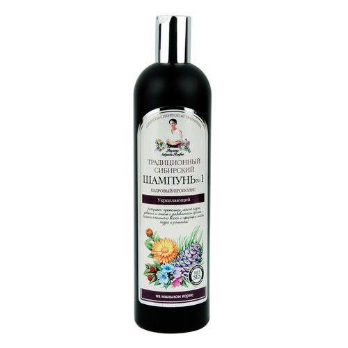 Receptura babci agafii szampon do włosów nr 1 cedrowy - wzmacniający, 550 ml marki Babcia agafia