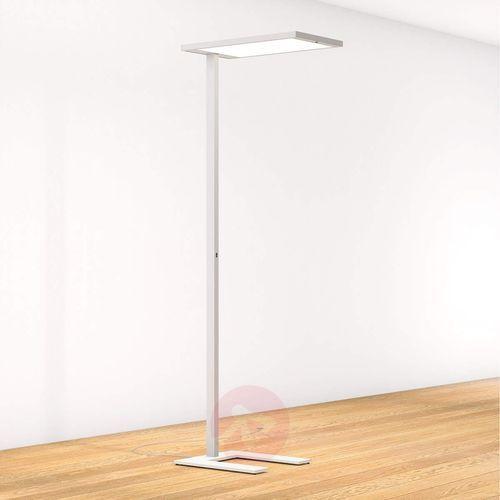 Lampenwelt.com Lampa stojąca led almira, ściemniacz i czujnik