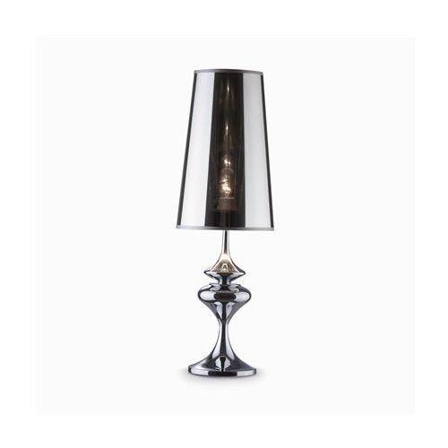 lampa stołowa ALFIERE TL1 big chrom, IDEAL-LUX 32436