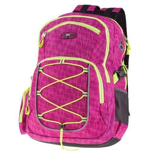 Plecak szkolno-sportowy fioletowy