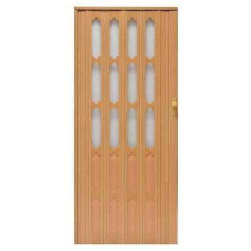 Drzwi Harmonijkowe 007 Buk Mat 86 cm, GK-0160