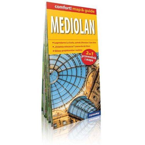 ExpressMap Mediolan Map & Guide 2w1 przewodnik i mapa 1:12 000 (9788375467314) - OKAZJE
