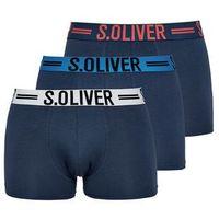 3 – pack bokserki męskie l ciemnoniebieski marki S.oliver