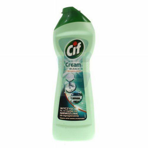 Mleczko do czyszczenia powierzchni Cif Cream with Bleach z mikrogranulkami 250 ml