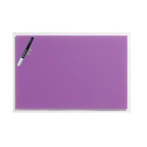 NAGA Szklana tablica magnetyczna fioletowa 40x60 cm (10573), 10573