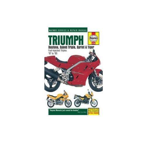 Triumph Daytona, Speed Triple Service and Repair Manual, Haynes, John H