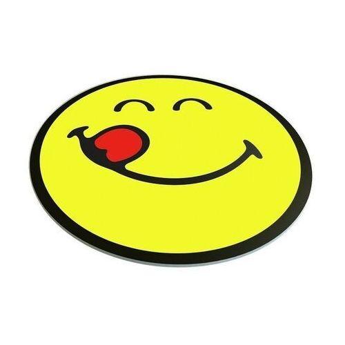 Zak! designs Deska szklana okrągła smiley zak! design