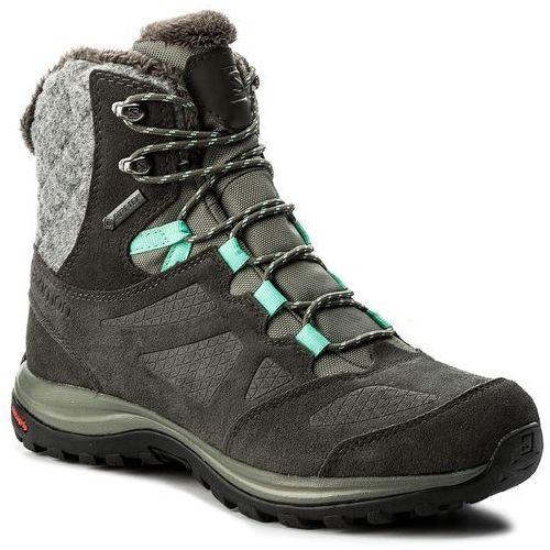Trekkingi SALOMON - Ellipse Winter Gtx GORE-TEX 398550 20 V0 Castor Gray/Beluga/Biscay Green