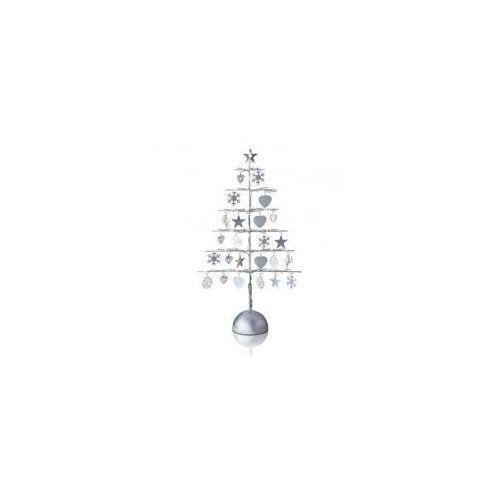 Markslojd Borken świecznik 21l srebrny z adapterem 703408