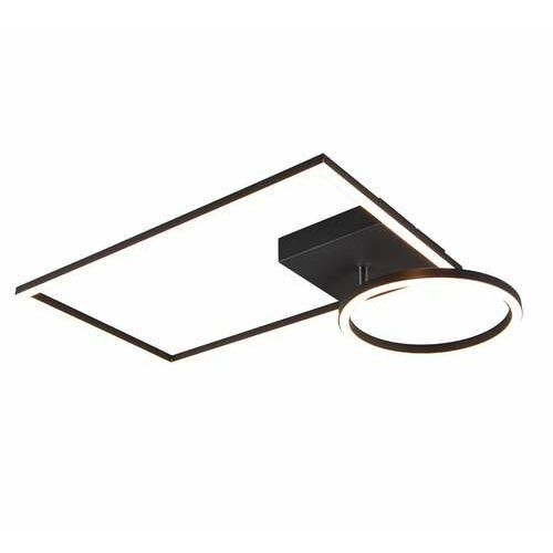 Trio RL Verso R62182132 plafon lampa sufitowa 1x24W LED czarny (4017807488487)
